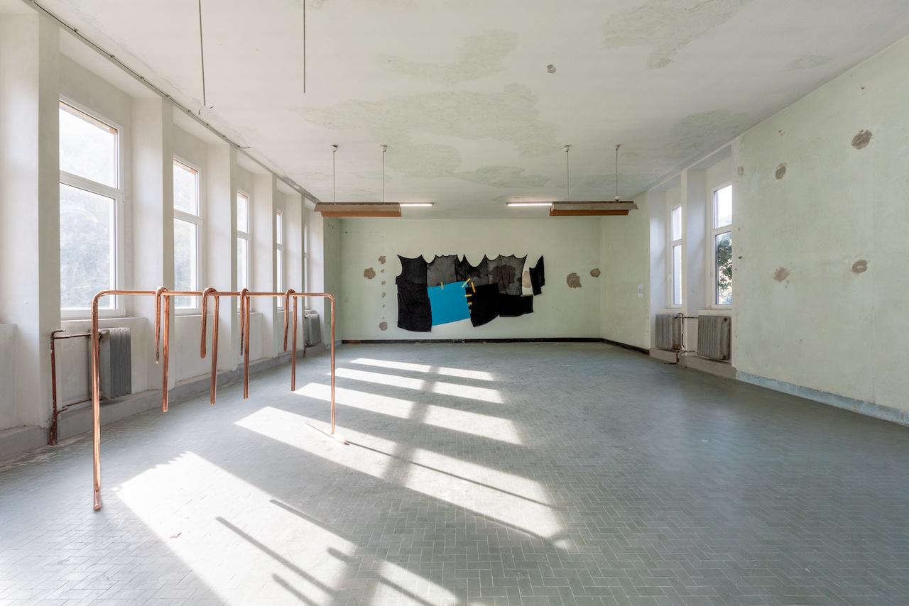 Izložbeni postav u prostoru bivšeg direktorata rudnika u Raši _02