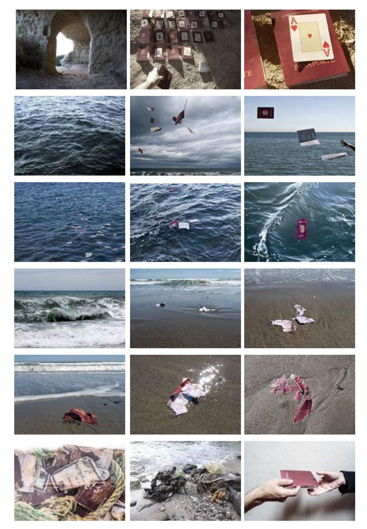 Sueños en el mar. Del viaje... , 2005
